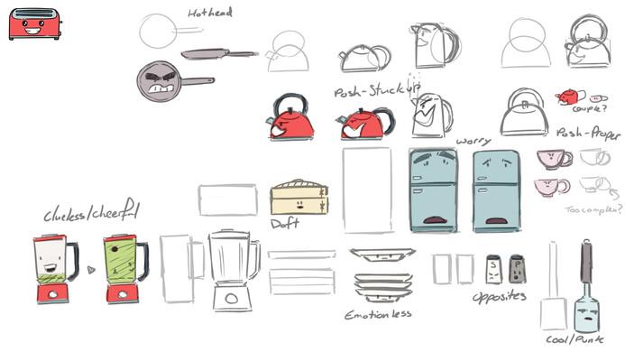 Level 1 item designs