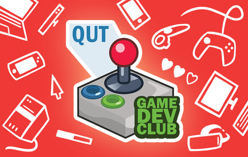QUT Game Dev Club membership card final
