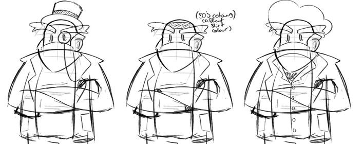 Character design sketches 2