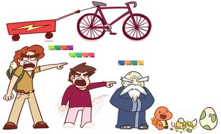 Pokemon animation character designs