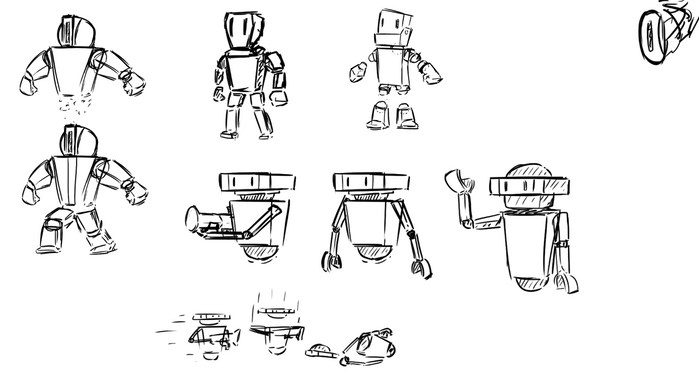 Player model sketches