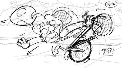 Pokemon animation storyboard frame 3