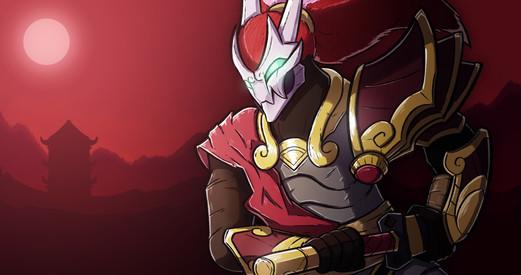 League of Legends Blood Moon Yasuo