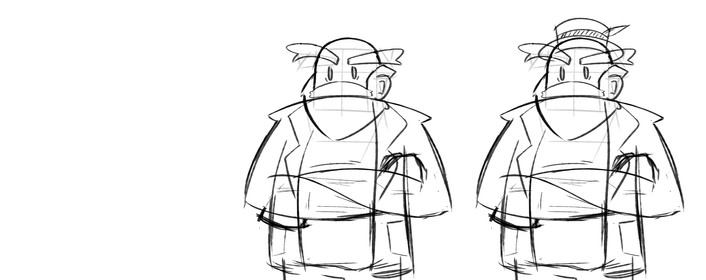 Character design sketches 1