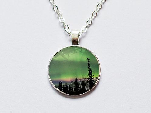 Small northern lights pendant