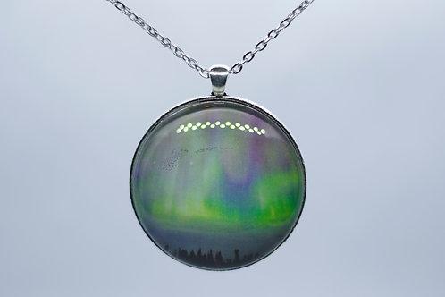 Large northern lights pendant