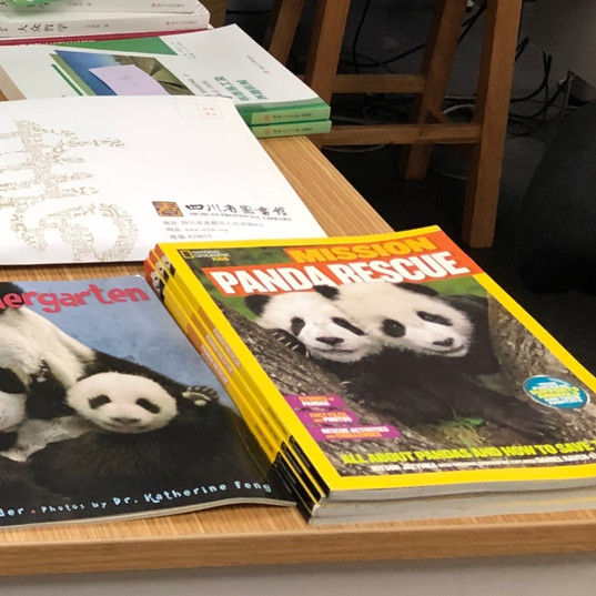 Panda Books Donated