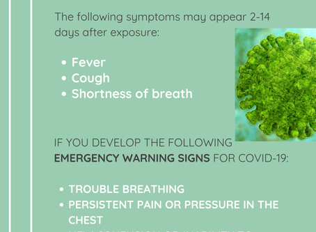 Do You Have COVID-19: Watch For Symptoms