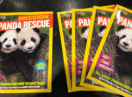 PandaWorld Donated Panda Books to Libraries in US and China