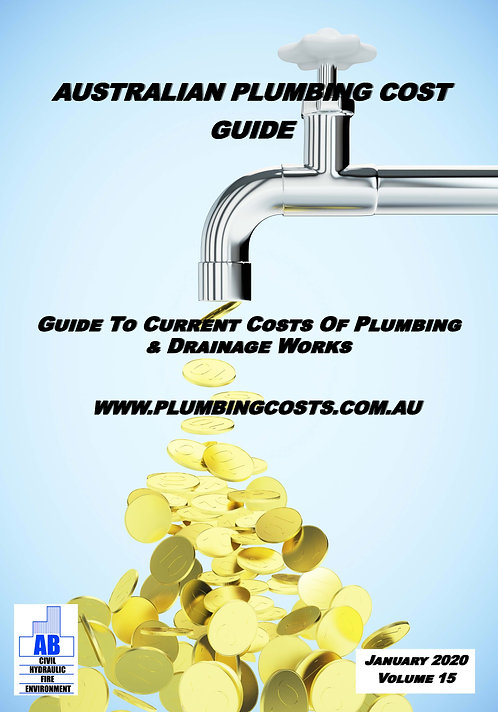 2020 Australian Plumbing Cost Guide Residential & Domestic Edition