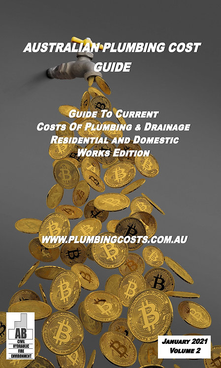 2021 Australian Plumbing Cost Guide Residential & Domestic Edition