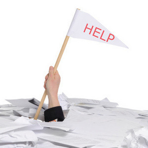 When to Call for Help - Paperwork!