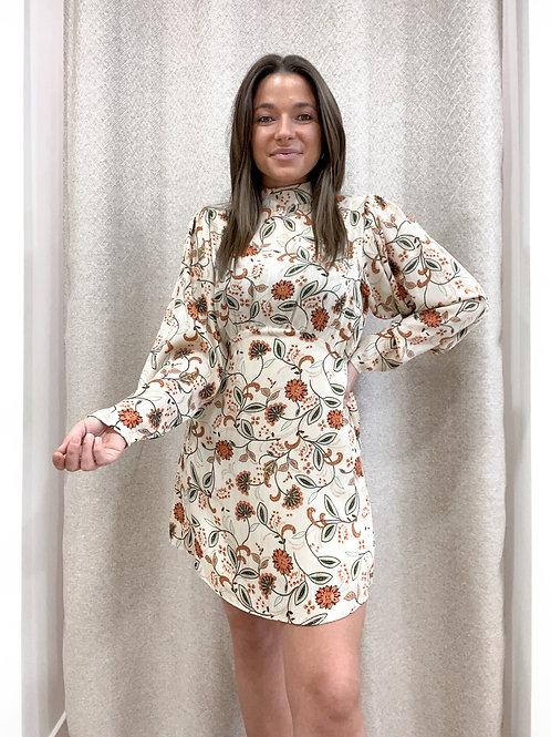Classy flower dress