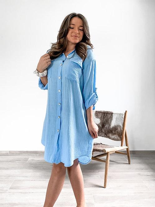 Tetra dress Emmylou blue