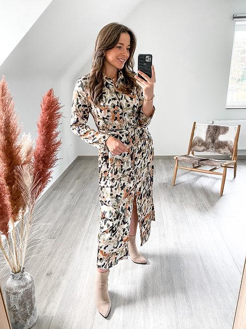 Camouflage maxi dress Manon