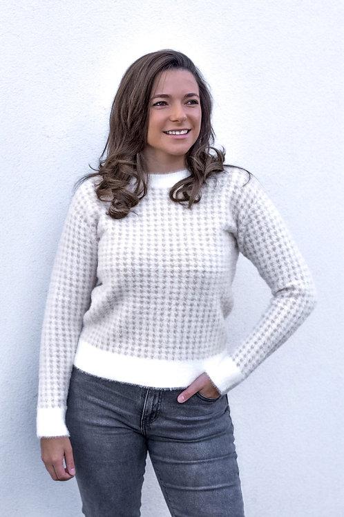 Pied de poule sweaters