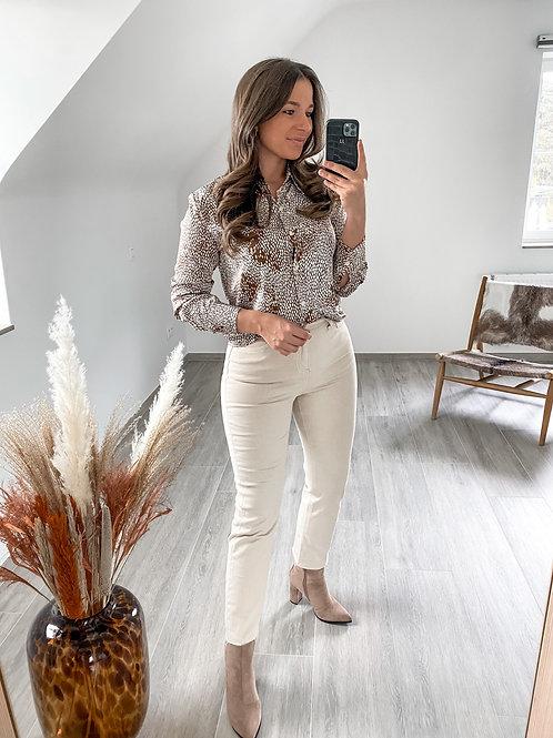 Beige momfit jeans Shauni