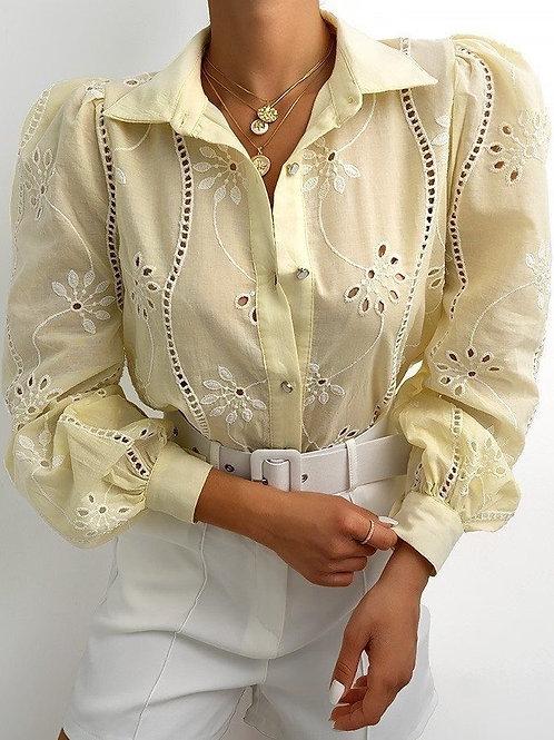 Broderie blouse Meli