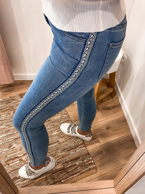 Jeans with detail