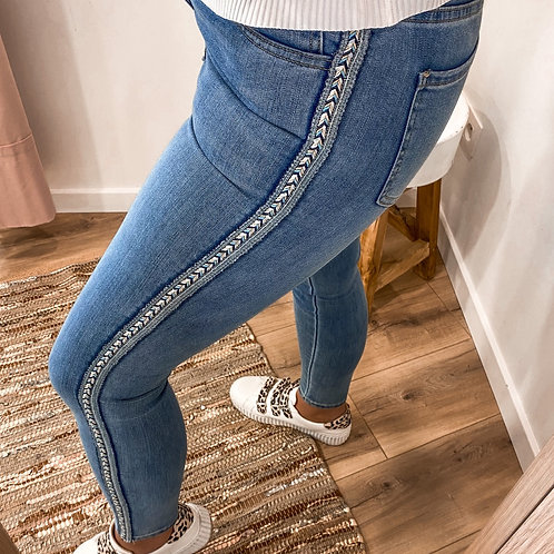 Jeans met detail