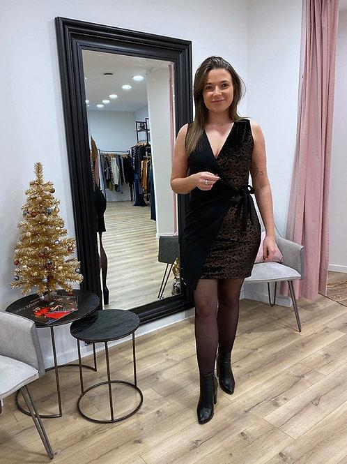Velvet panter dress
