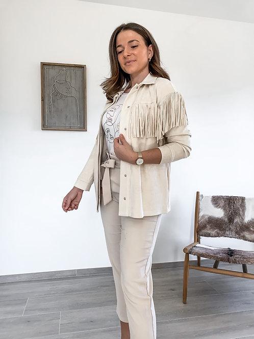 Fringe jacket Stefanie