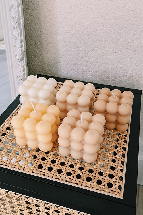 Maxi bubble candle