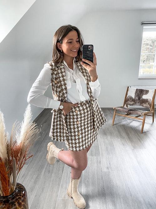 Button skirt Yoana