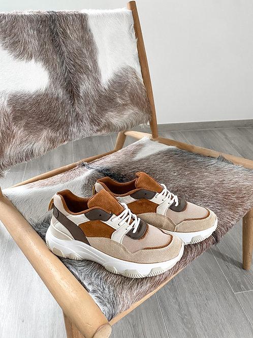 Sneakers Camel/beige