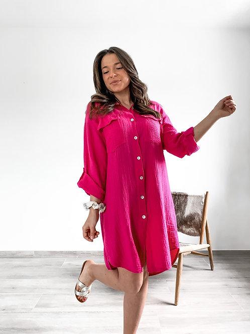 Tetra dress Emmylou Fuchsia