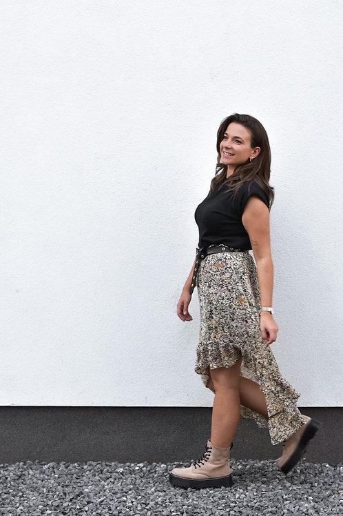 Midi flowerbomb skirt