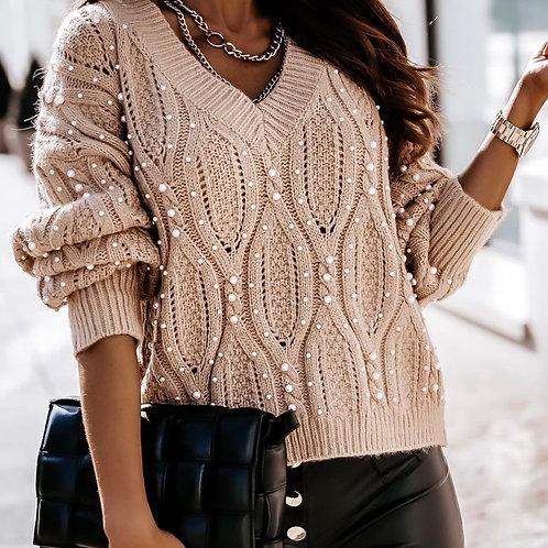 Pearl dotty sweater