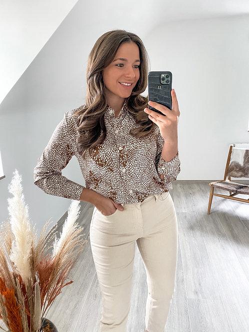 Satin shirt Iris