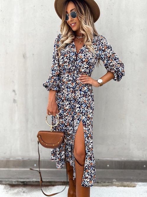 Split dress Angelie