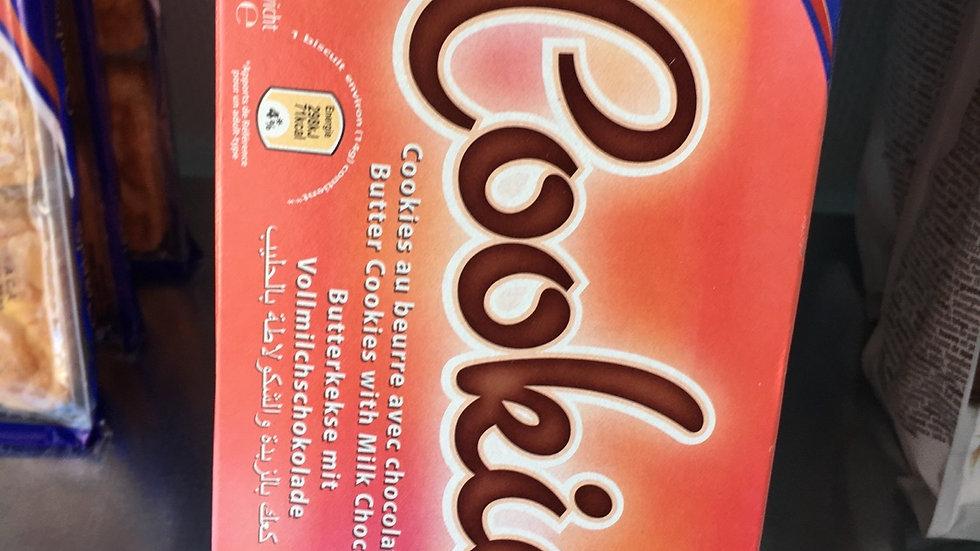 Cookie  au beurre avec chocolat au lait