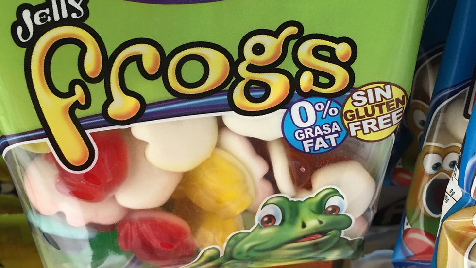 Fini jelly  frogs