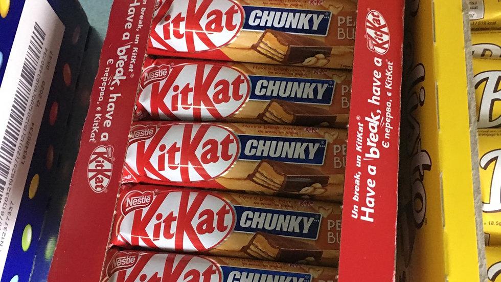 Kit kat chunky peanut