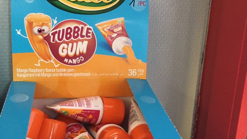 Lutti tubble  gum  mangue
