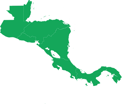 Central America map green.png