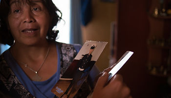 Foundation Chol Chol, Isabel is an indigenous Mapuche beneficiary in Chile