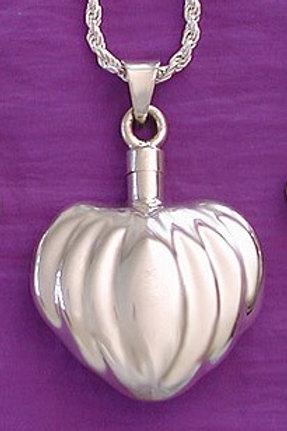 Pumpkin Heart Pendant