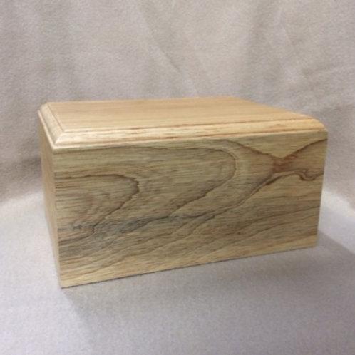Simplicity Wood Urn