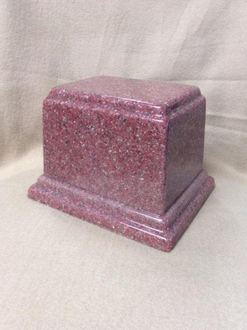 Rectangle Granite Composite Urn
