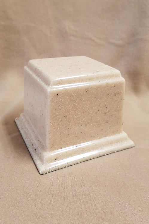 Square Granite Composite Urn