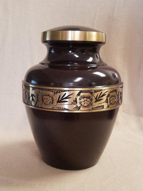 Avalon Mahogany Vase Urn