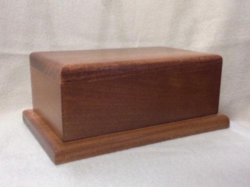 Basic Rectangular Wood Urn