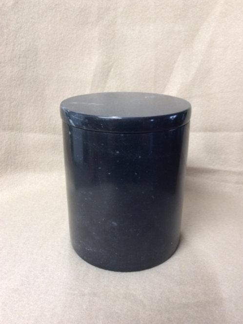 Cylinder Black Urn