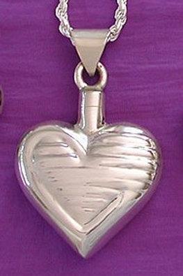 Rippling Heart Pendant