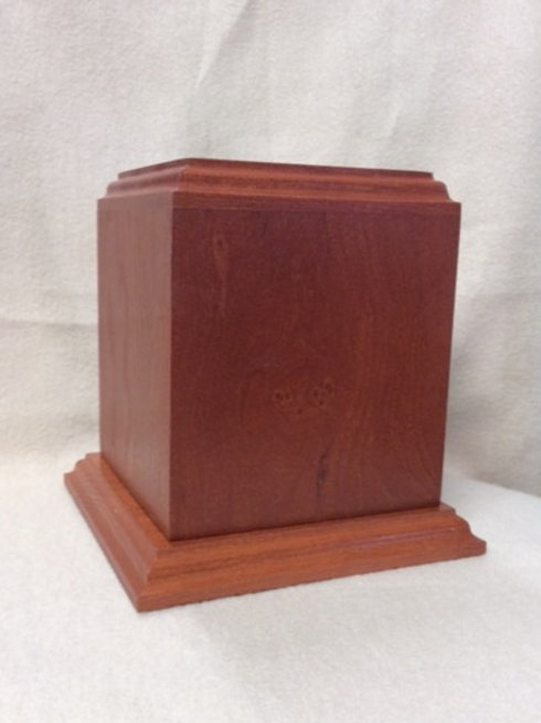 Imperial Wood Urn