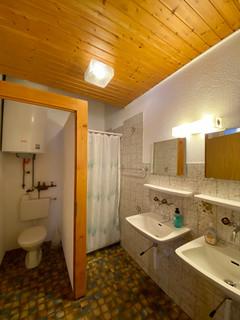 Dusche/WC im EG